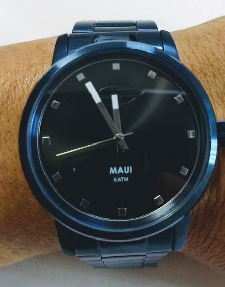 Relógio Mormaii Azul Aço Prova D