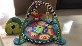 Tapete De Atividade Para Bebê Com Piscina De Bolinha