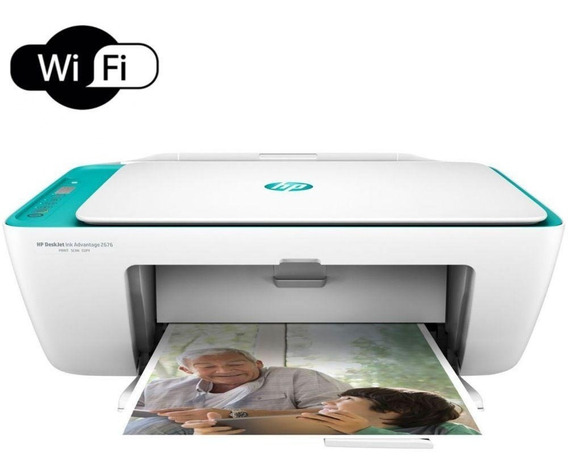 Multifuncional Hp Deskjet Ink Advantage 2676 Wi-fi