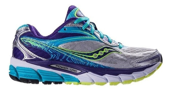 saucony ride 8 mujer gris