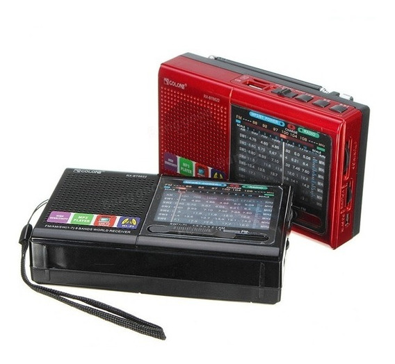 Radio Caixa De Som Bluetooth Vintage Lanterna Am Fm Usb Alça