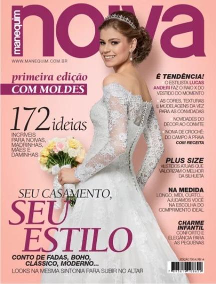 Noiva Revista Manequim Edição Especial Moldes Nova Lacrada