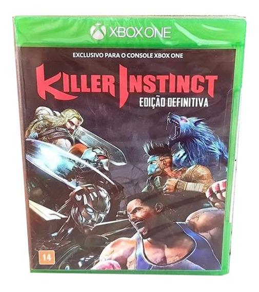 Xbox One Killer Instinct Ed. Definitiva Mídia Física