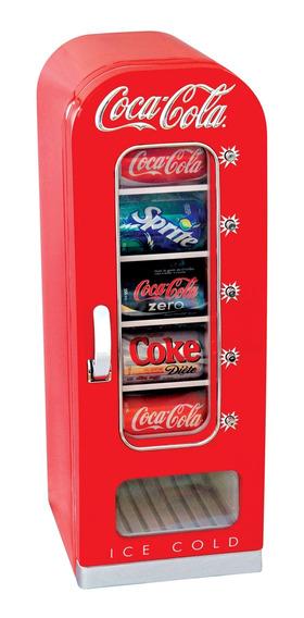 Cooler Coca Cola Retrô Termoelétrico 10 Latas Bivolt