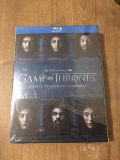 Bluray Game Of Thrones 6ª Temporada (digipack) C/avaria