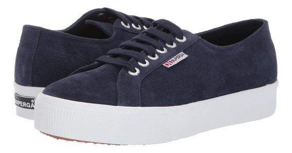 Tenis Mujer Casual Superga 2730 Sueu Sneaker D-7161