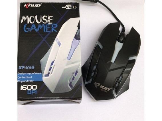 Mouse Gamer Knup Kp-v40