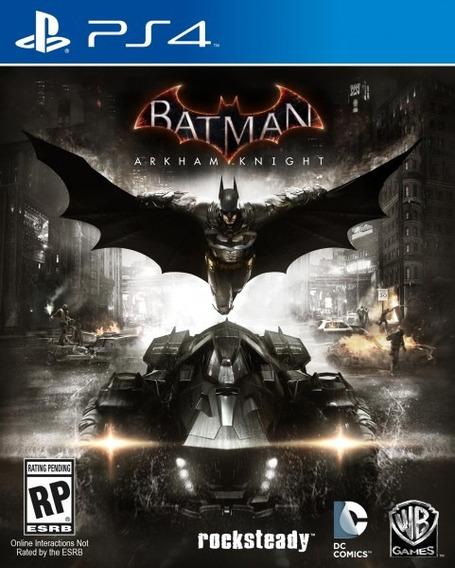 Batman Arkham Knight (mídia Física, 100% Pt-br) - Ps4