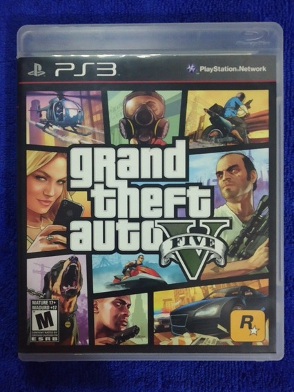 Grand Theft Auto V - Gta 5 - Ps3 - Usado