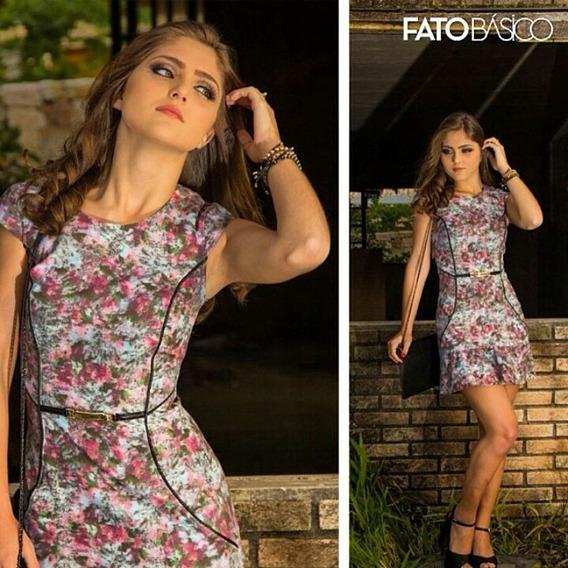 Vestido Recorte Debrum | Outletdafe