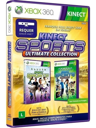 Game Xbox 360 Kinect Sports Ultimate Collection
