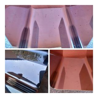 Porta Garrafa Vinho Inox Parede Decorativo Usado Modern Disp