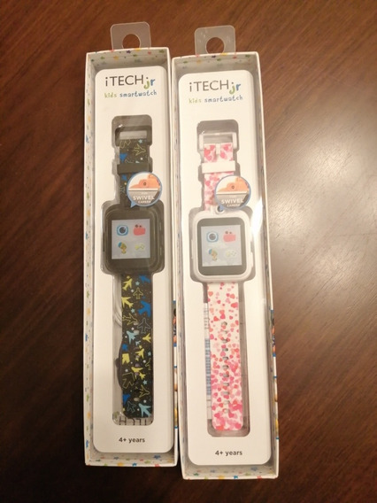 Reloj Smartwatch Itech Jr Para Niños