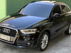 Audi Q3 Preto 2.0 Tfsi Ambiente Teto Solar Gasolina S Tronic