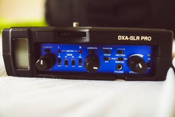 Beachtek Dxa-slr Pro (áudio Para Dslr, Câmeras, Vídeo)