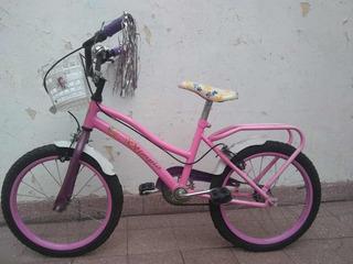 Bicicleta Nena Rodando 16, Impecable! Marca Olimpia Sin Uso