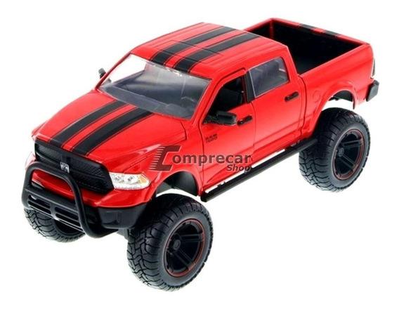 Miniatura Dodge Ram 1500 2014 Off Road Vermelho Jada 1/24
