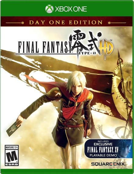 Jogo Final Fantasy Type 0 Hd Xbox One Original Frete Grátis