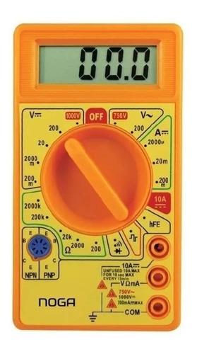 Tester Multimetro Digital Dt-830d Noga Con Buzzer