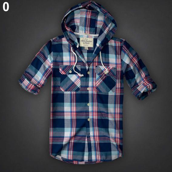 Camisas Hollister Y Abecrombie Originales Con Gorro Remate
