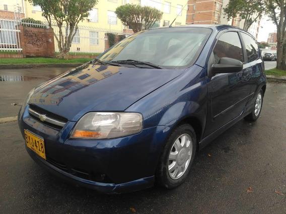Chevrolet Aveo L Mt1400cc Azul Superior Metalizado Sa Dh