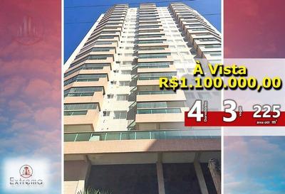 Apartamento Em Praia Grande De 4 Dormitórios Alto Padrão,50 Metros Da Praia. - Ap0029