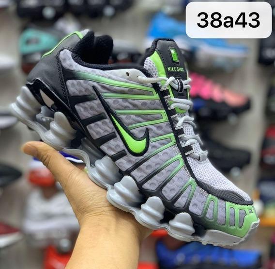 Tenis Nike Shox 12 Molas Original Importado Frete Gratis