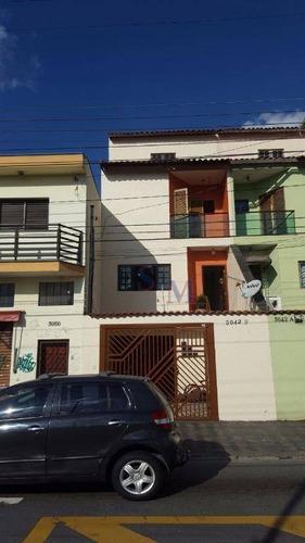 Imagem 1 de 17 de Sobrado Com 2 Dormitórios À Venda, 150 M² Por R$ 380.000,00 - Parque Oratório - Santo André/sp - So0093