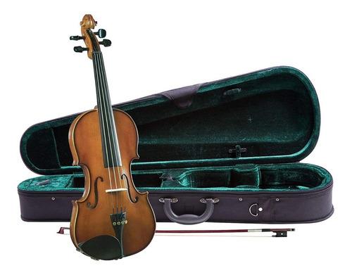 Imagen 1 de 4 de Cremona Sv-130 3/4 Violin Estudio 3/4   Pino Solido ,maple