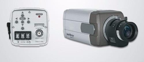 Camera Intelbras 600i Lt + Lente Varifocal Xlp 2812 R