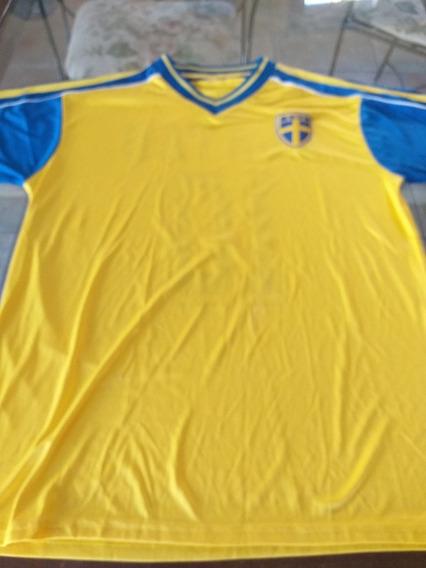 Camiseta De Futbol De Suecia