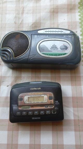 Rádio Portátil A M Fm E Deck