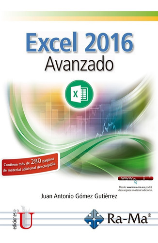 Imagen 1 de 1 de Excel 2016 Avanzado