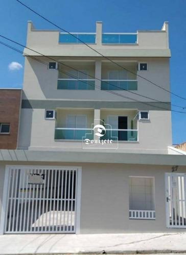 Cobertura Nova Com  02 Dormitórios  126m2a/u À Venda Na Vila América Em Santo André. - Co11473