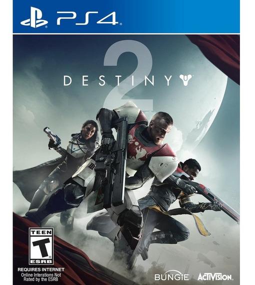 Jogo Destiny 2 Ps4 Novo Original Lacrado