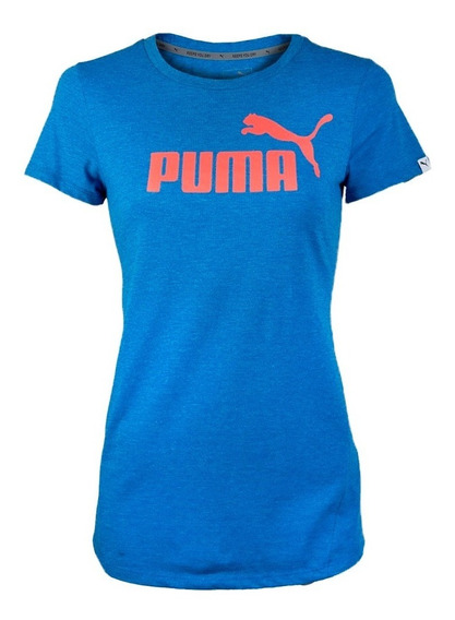 Playera Atletica Ess No 1 Tee Heather W Mujer 01 Puma 851098