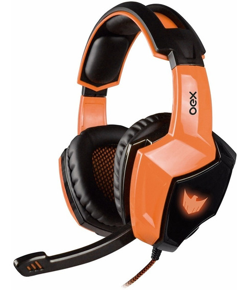 Headset Gamer Eagle Hs401 Oex Usb Audio 7.1 Ideal P/ Pc Ps4