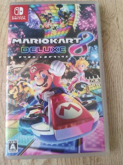 Mario Kart Para Nintendo Switch Mídia Fisica