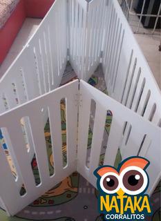 Corralito De Madera Para Bebes Plegables - 180x150