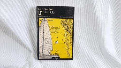 J De Juicio Sue Grafton Tusquets