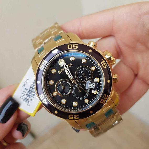 Relógio Invicta Pro Diver 0072 Original Cronógraf Calendário