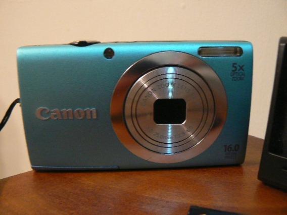 Cámara Digital Canon Powershot A2400 Is 16.0 Mp