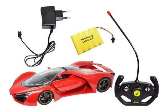 Carrinho Controle Remoto Ferrari Sem Fio Recarregavel