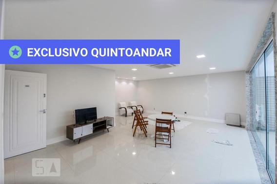 Apartamento No 3º Andar Mobiliado Com 3 Dormitórios E 3 Garagens - Id: 892957385 - 257385