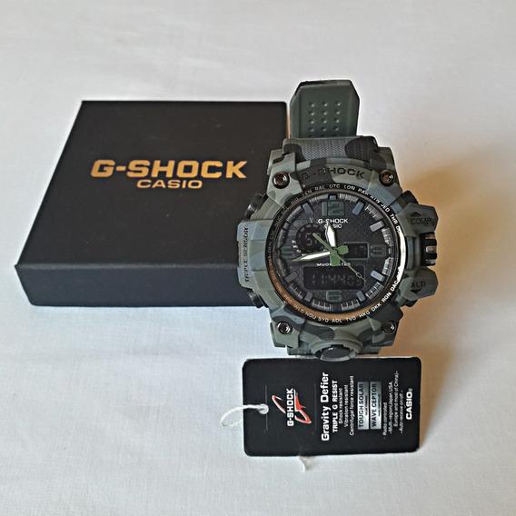 Relógio Casio Gshock Masculino Adulto Camuflado Militar