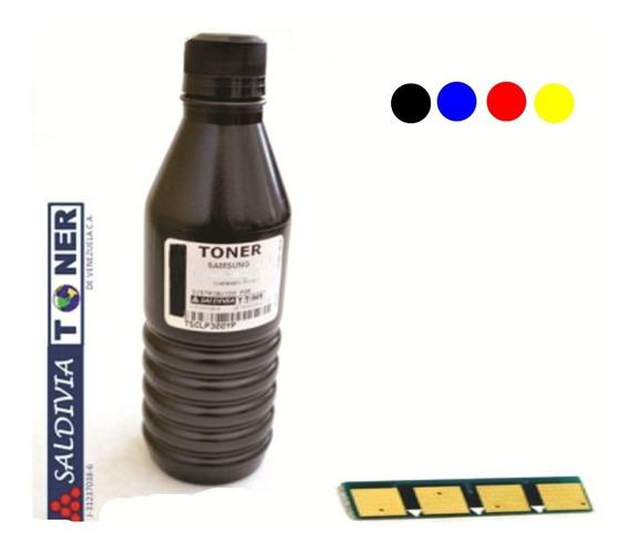 Polvo Toner Samsung Clp325 Clp320 Clp315 Clx3180 3185 45 Grs