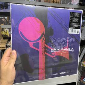 Lp Nacao Zumbi - Radio Samba Vinyl Duplo Importado Lacrado