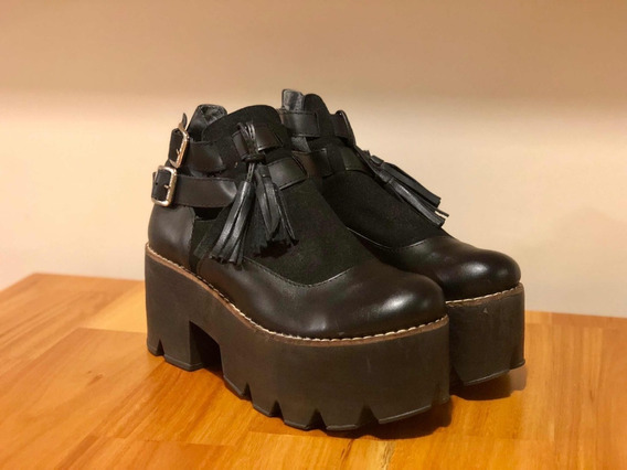 Zapatos Nazaria Plataforma Talle 36
