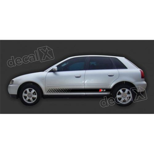 Par Adesivo Audi A3 Faixas Lateral Decorativas A32