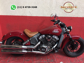 Indian Scout 2016 Vermleha